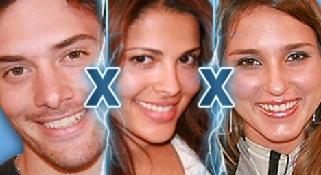 Alexandre, Gyselle und Thatiana stellen sich im Duell der Abstimmung durch die Zuschauer. Ein Kandidat wird am Dienstag das Haus verlassen (Foto: bbb.gobo.com)