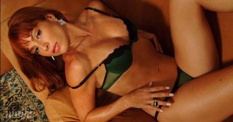 Thalita Lippi im erotischen Fotoshooting für Paparazzo (Foto: ego.globo.com)