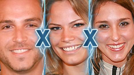 Eine/r wird verlieren: Fernando, Natalia und Thatiana stehen sich im Duell gegenüber. Ein Kandidat zieht am Dienstagabend bei Big Brother Brasil 8 aus (Grafik: bbb.globo.com)