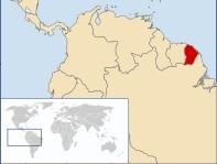 EU-Land in Südamerika: Französisch-Guayana nördlich von Brasilien