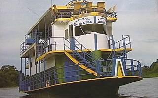 Archivbild des gesunkenen Bootes (Foto: globo.com)