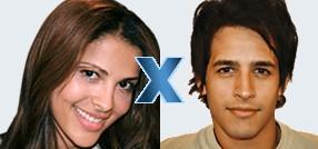 Wer gewinnt die achte Staffel von Big Brother Brasil: Gyselle und Rafinha stehen sich im Duell gegenüber (Foto: bbb.globo.com)