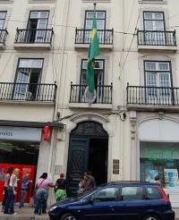 Das Generalkonsulat von Brasilien in der portugiesischen Hauptstadt Lissabon (Foto: Wikimedia)