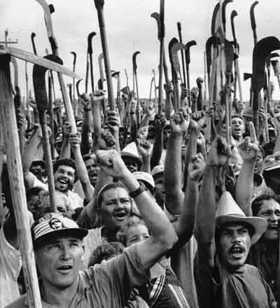 Auch Landlose dürfen sich nicht über geltendes Recht hinwegsetzen (Foto: Divulgação)