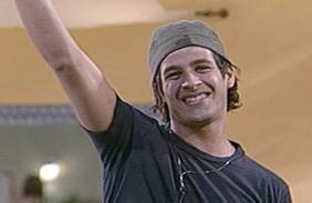 Rafinha hat gut Lachen: er steht bereits im Finale bei BBB8 (Foto: bbb.globo.com)