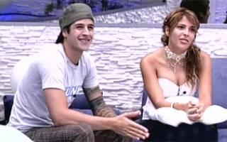 Rafinha und Gyselle kurz vor dem Endergebnis. Die letzten Minuten im Big Brother Haus (Foto: bbb.globo.com)