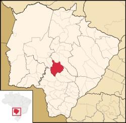 In Sidrolândia im Mato Grosso do Sul wurde ein 12-jähriges Mädchen knapp eine Woche in eine Einzelzelle gesperrt (Grafik: Wikipedia)
