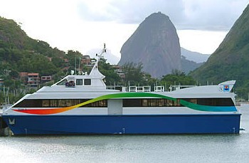 Solche Fähren der Barcas S.A. pendeln in der Bucht von Guanabara in Rio de Janeiro (Foto: Divulgação)
