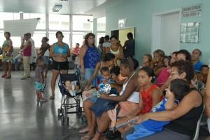 Immer mehr Dengue-Fälle: In den Krankenhäusern müssen die Menschen weiterhin lange Wartezeiten in Kauf nehmen. (Foto: ABr)