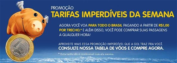 Bis zum Sonntag um Mitternacht können noch Flüge ab 1 Real je Teilstrecke gebucht werden (Screenshot: voegol.com.br)