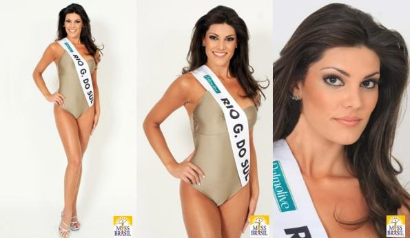 Natália Anderle ist die neue Miss Brasil 2008 (Foto: missbrasiloficial.com.br)
