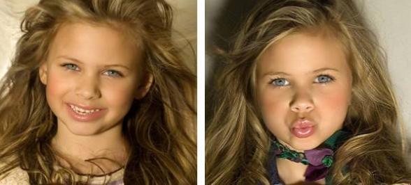 Die fünfjährige Natália ist die amtierende 'Little Miss World 2008' (Alle Fotos in diesem Beitrag: Divulgação)