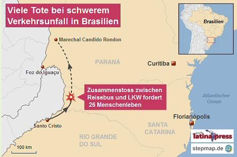 unfall-brasilien