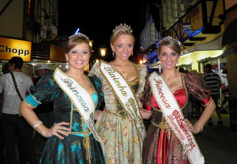 Oktoberfest Koenigin-Prinzessin