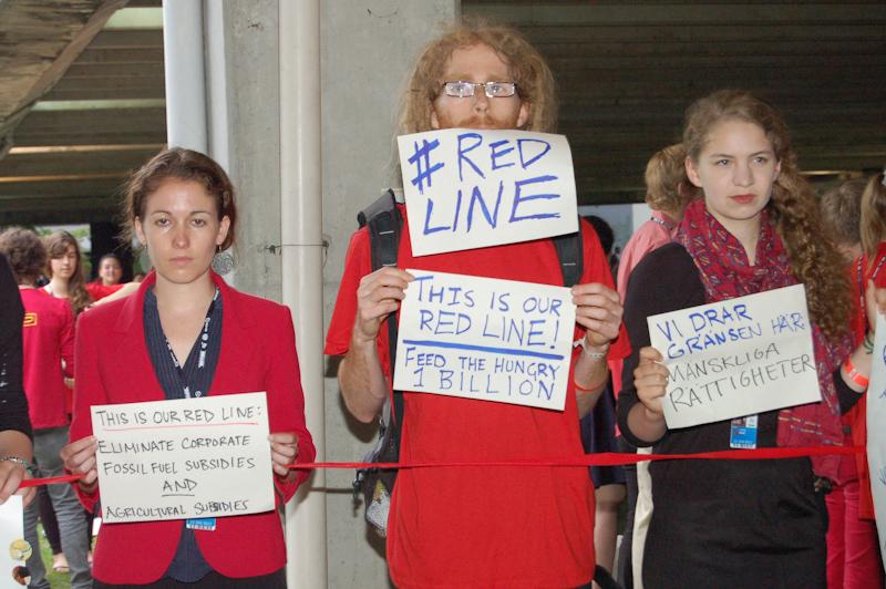 Red Line Protest (Foto: Luiz Ferreira / IAPF)