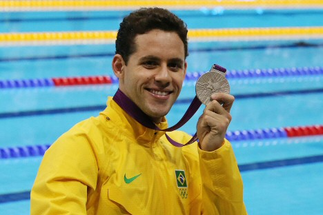 Thiago Pereira (Foto: alterci Santos/AGIF/COB)