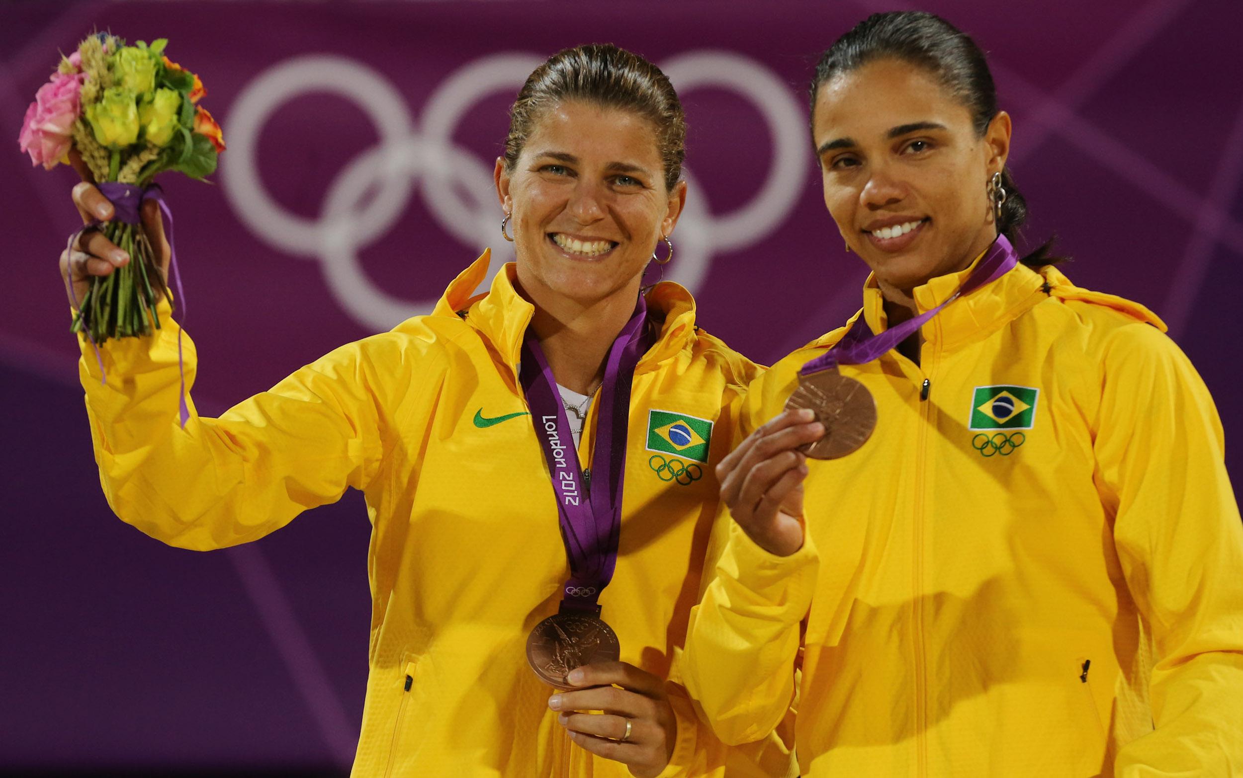 Juliana und Larissa, Beach-Volleyball