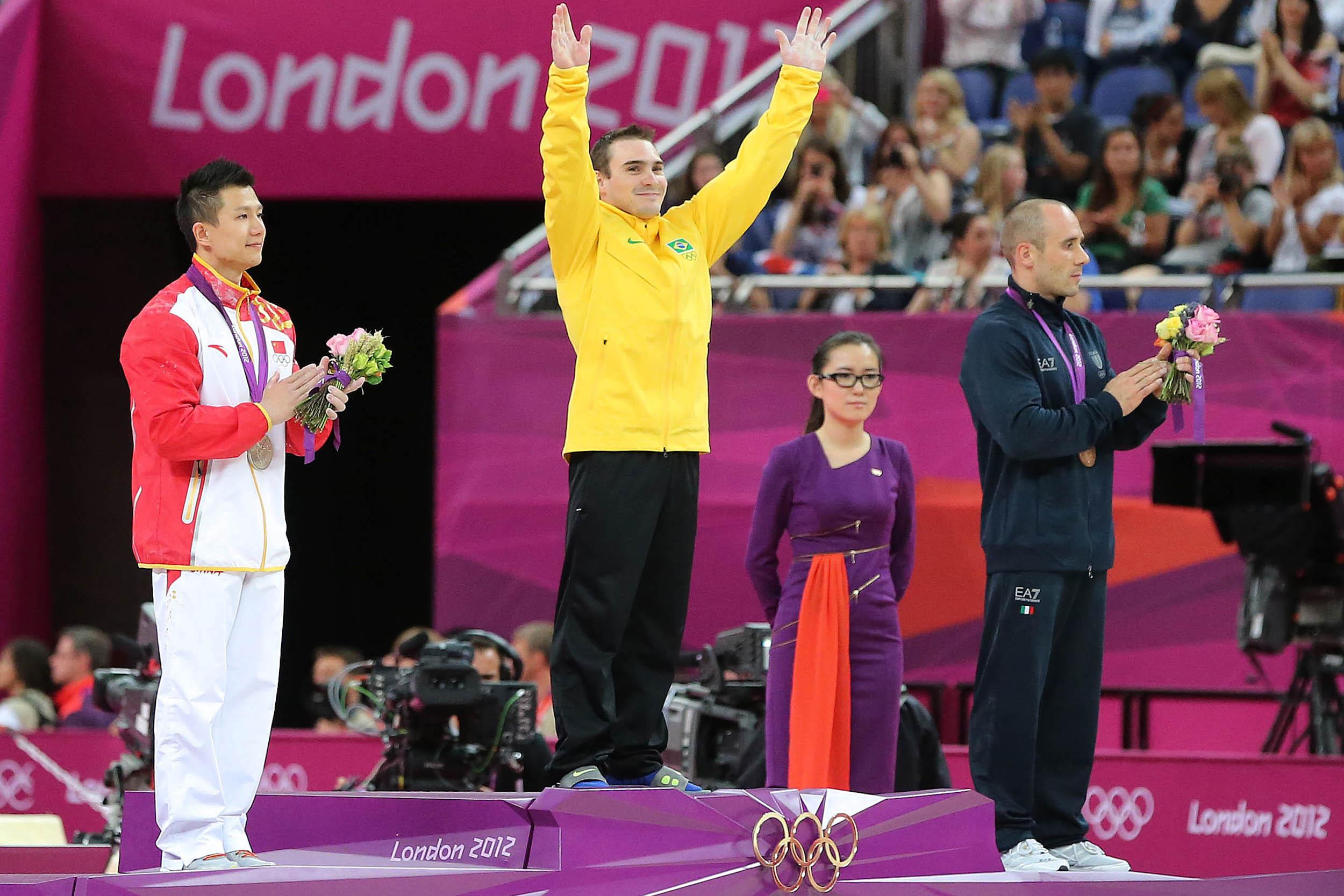 Medaillen für Brasilien