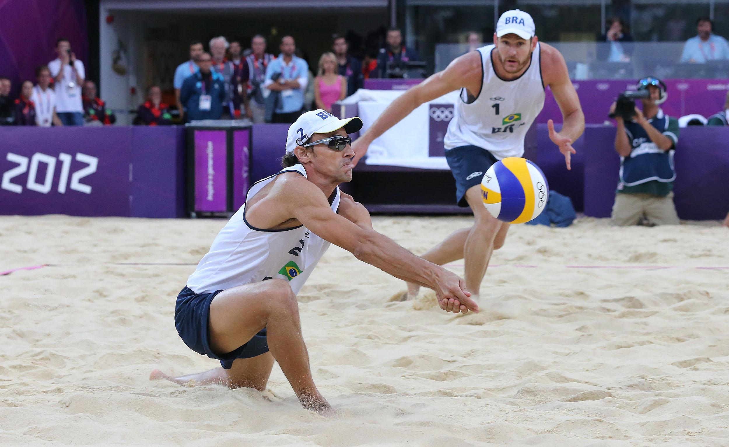 Beach-Volleyball Brasilien