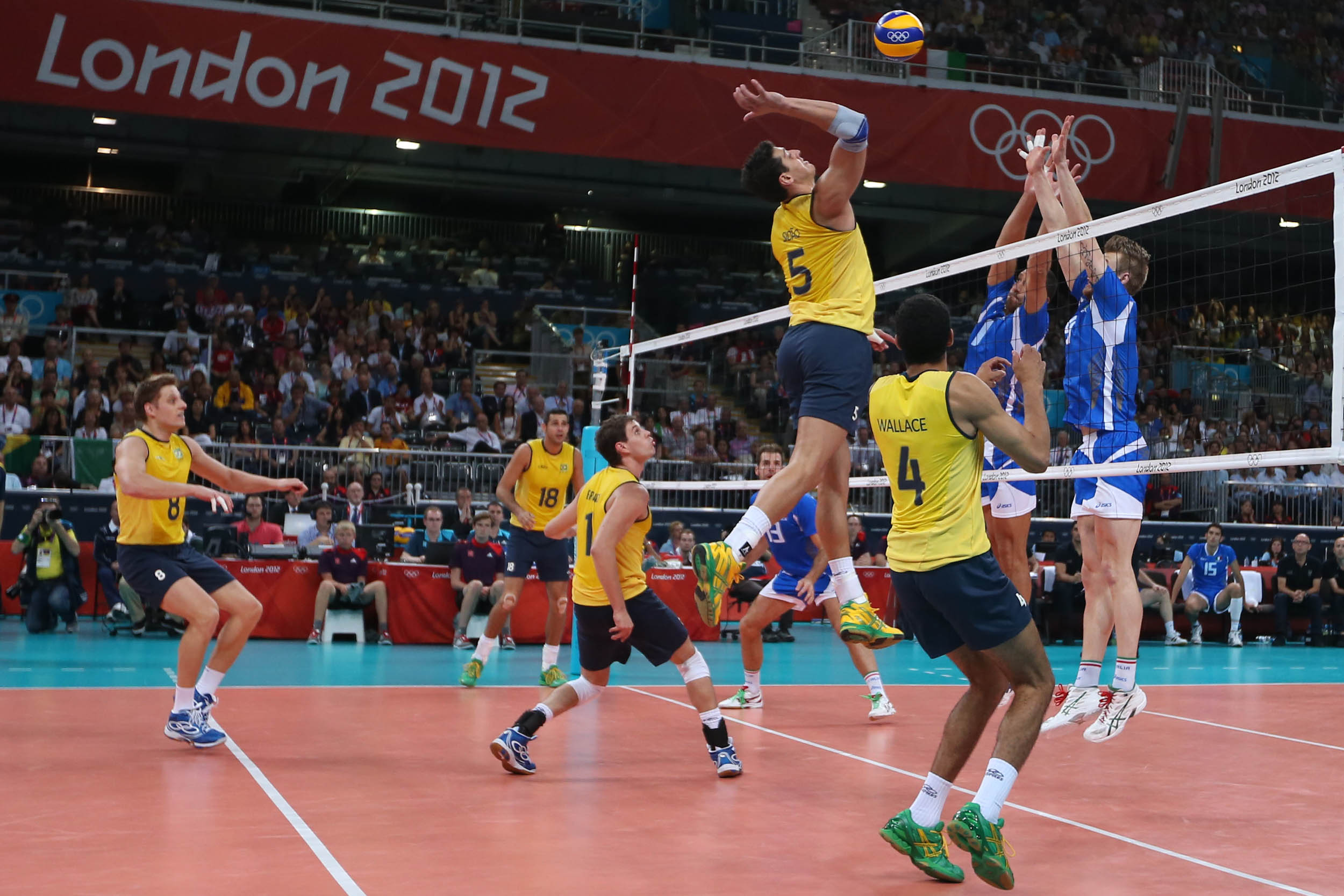 Londres 2012, Volley