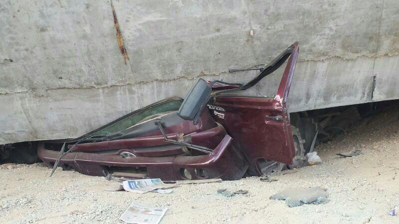 carro esmagado gabriel rubira