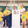 Olympisches Trainungszentrum für Kunstturner in Rio de Janeiro eingeweiht