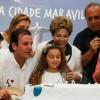 Rio de Janeiros 450. Geburtstag mit Feuerwerk, Musik und gigantischer Torte gefeiert