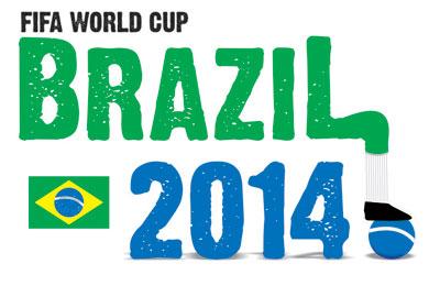 Logoentwurf zur Fussball WM 2014 - 1