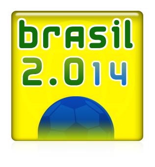 Logoentwurf zur Fussball WM 2014 - 2