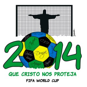 Logoentwurf zur Fussball WM 2014 - 5