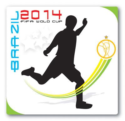 Logoentwurf zur Fussball WM 2014 - 12