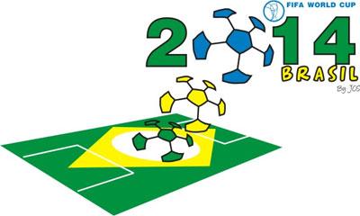Logoentwurf zur Fussball WM 2014 - 35