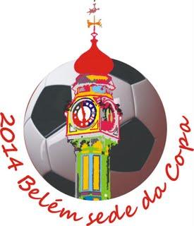 Logo Belem zur Fussball WM 2014