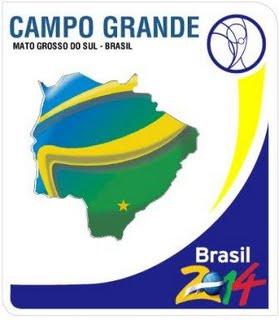 Logo Campo Grande 2 zur Fussball WM 2014