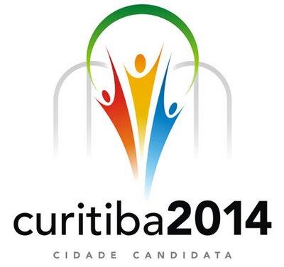 Logo Curitiba zur Fussball WM 2014