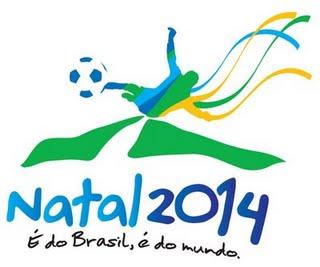 Logo Natal zur Fussball WM 2014