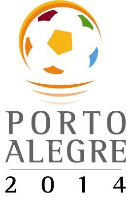 Logo Porto Alegre zur Fussball WM 2014