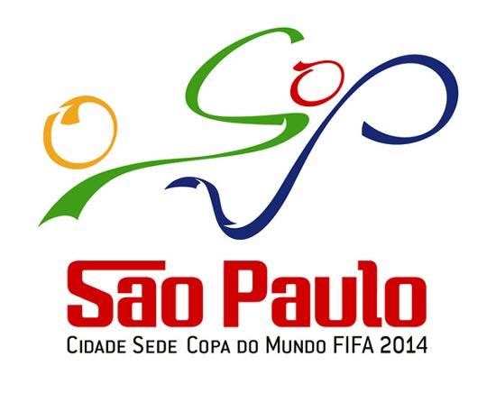 Logo Sao Paulo zur Fussball WM 2014